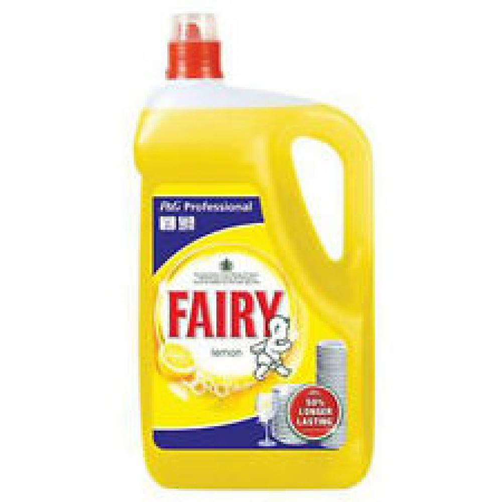 Fairy Lemon Washing Up Liquid 5 Litre