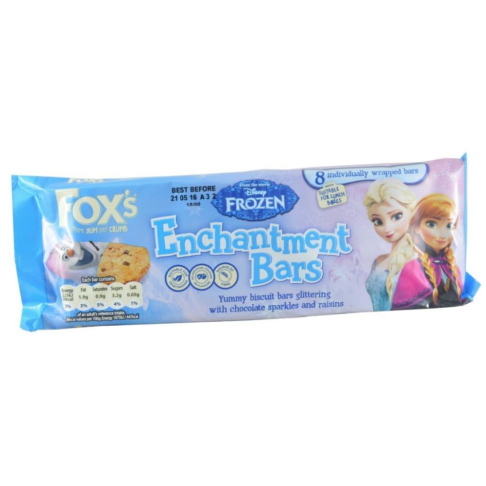 Foxs Disney Frozen Enchantment Bars 8 x 21g