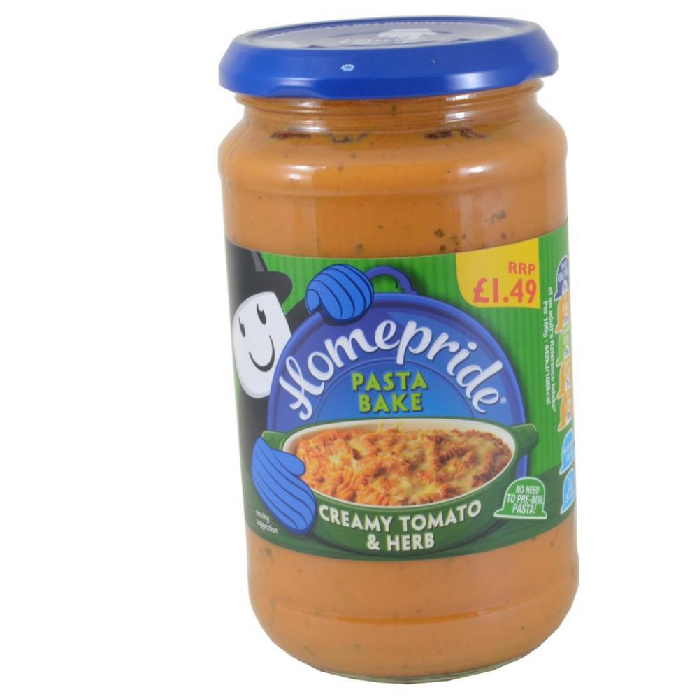 Homepride Creamy Tomato And Herb Pasta Bake 450g