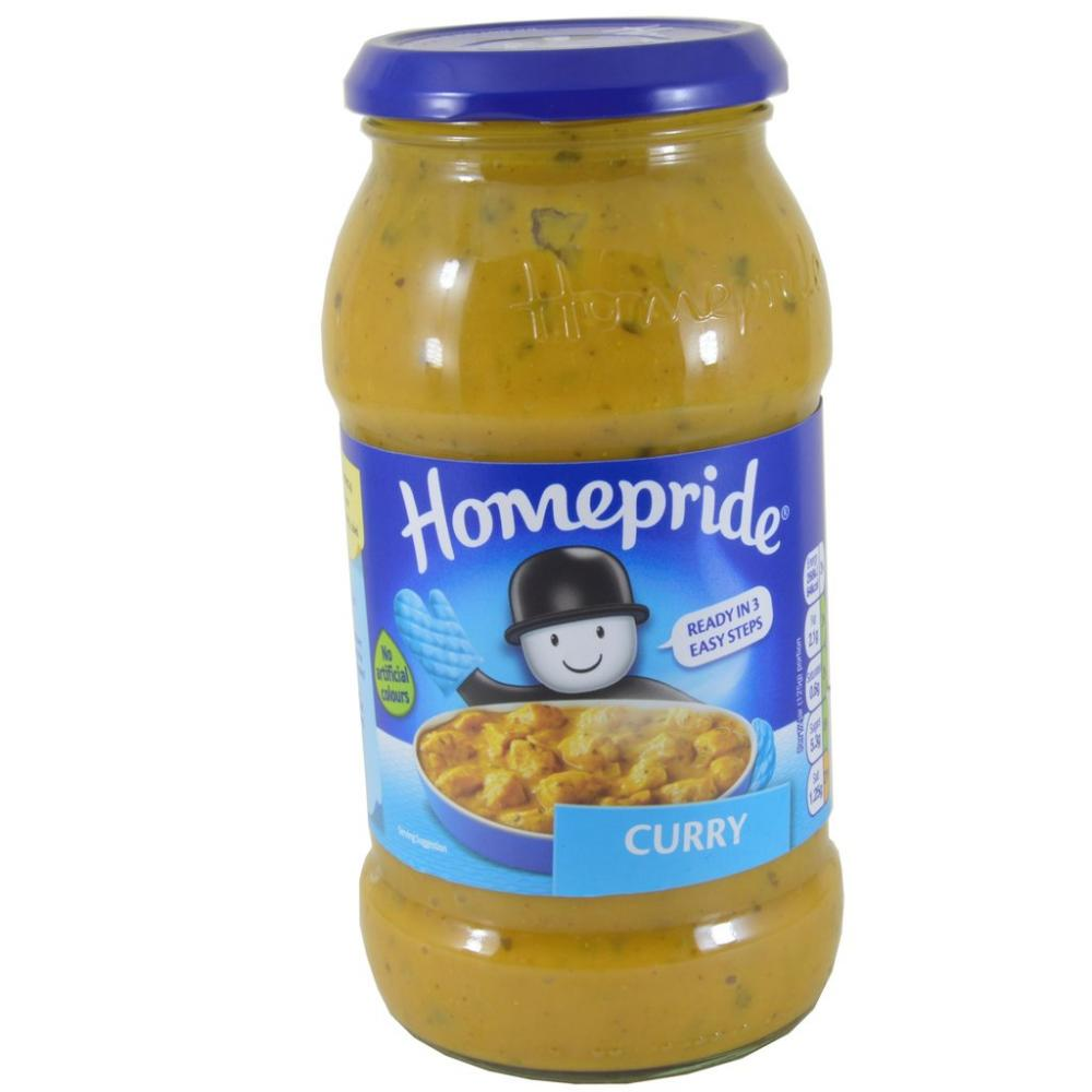 Homepride Curry Cooking Sauce 500g