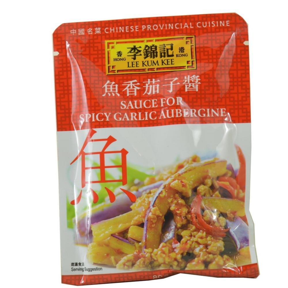Lee Kum Kee Sauce For Spicy Garlic Aubergine 80g