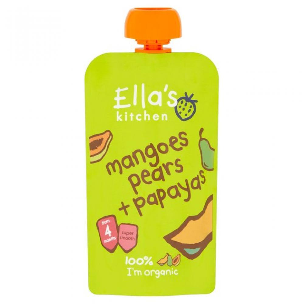 Ellas Kitchen Mangoes Pears Papayas 120g