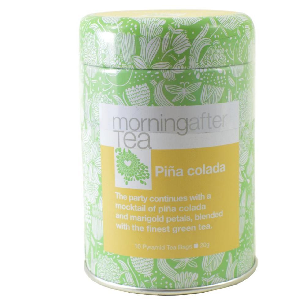 Morning After Tea Pina Colada 10 Pyramid Tea Bags