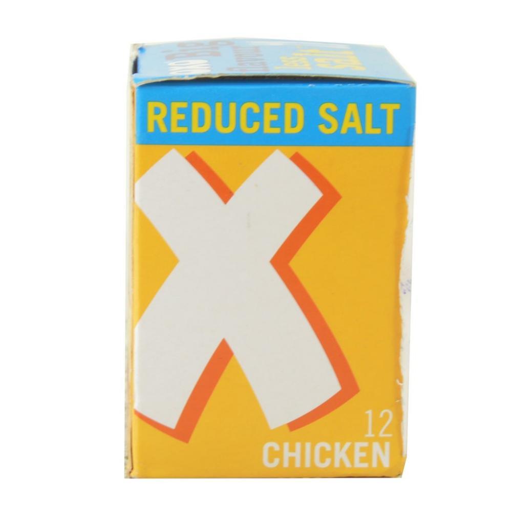 Oxo 12 Chicken Stock Cubes Reduced Salt