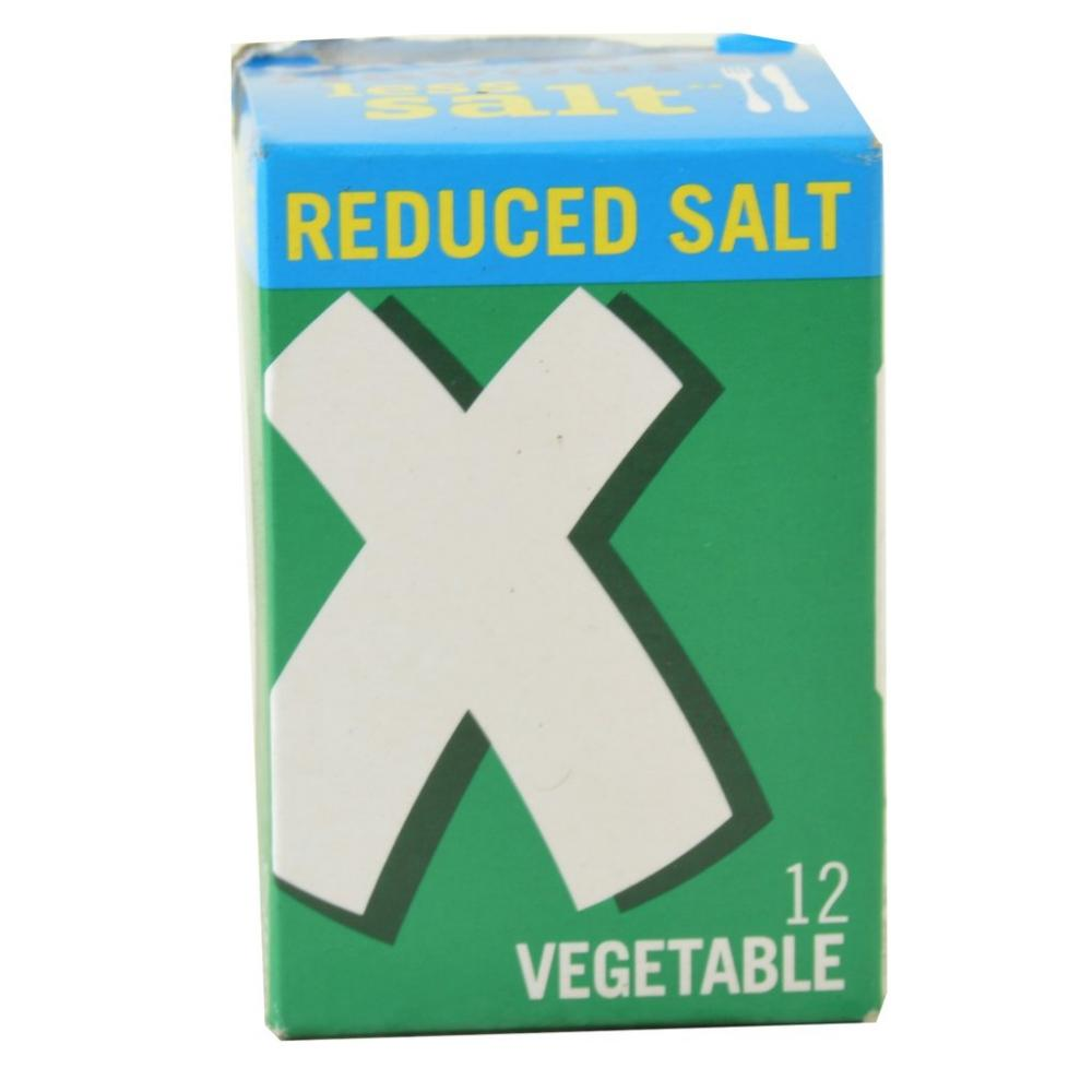 Oxo 12 Vegetable Stock Cubes Reduced Salt