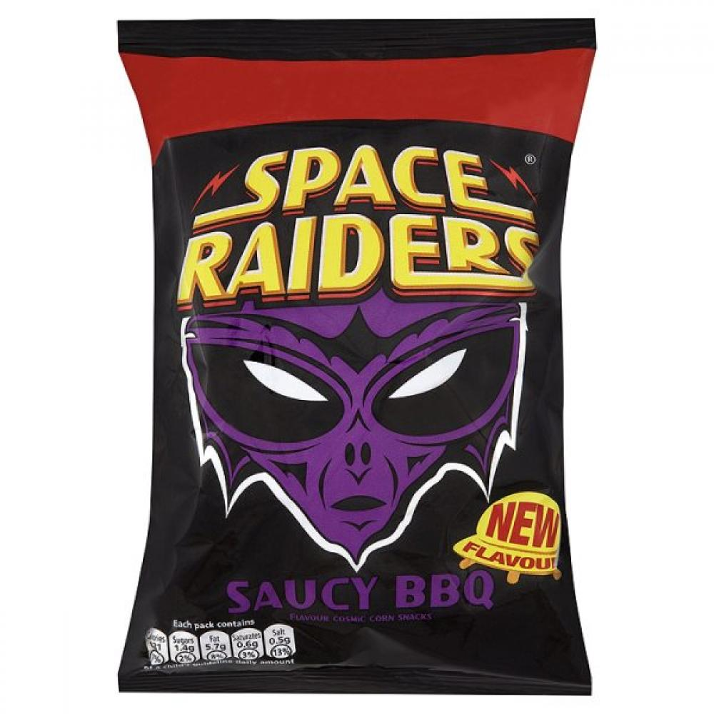 Space Raiders Saucy BBQ 20g