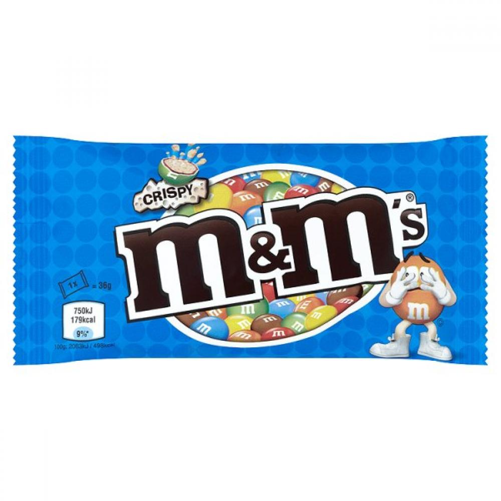 M and Ms Crispy 36g