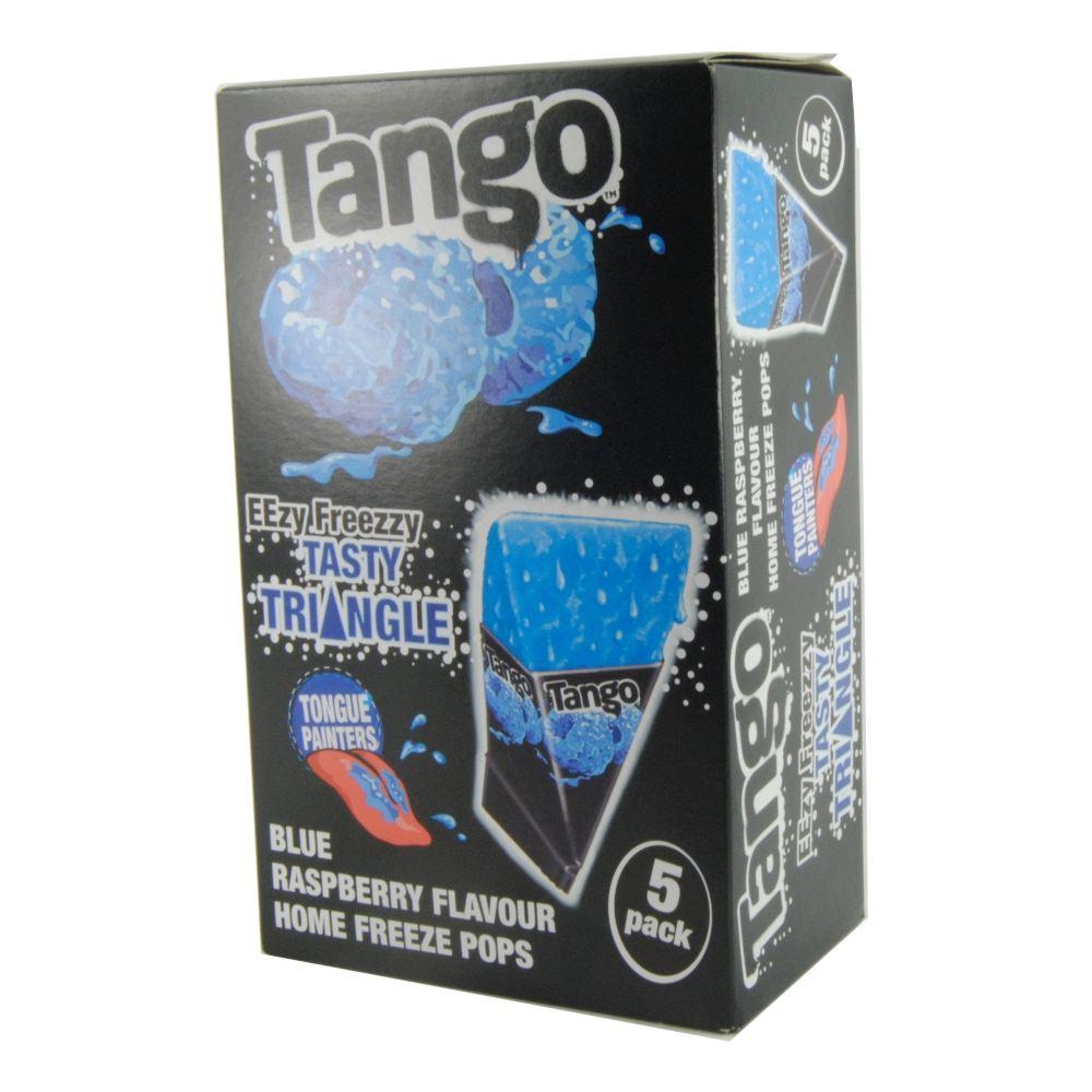Tango Blue Raspberry Home Freeze Pops 5 Pack