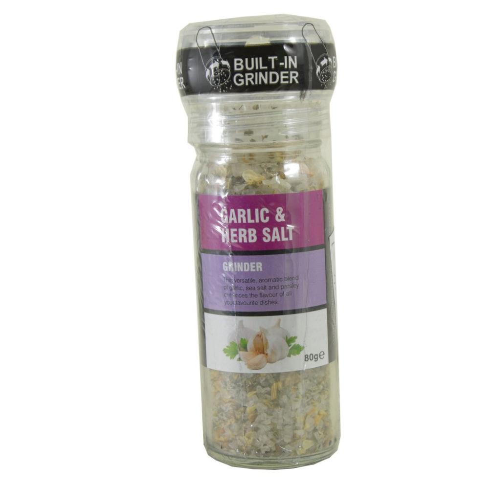 The Spice Maker Garlic And Herb Salt Grinder 80g