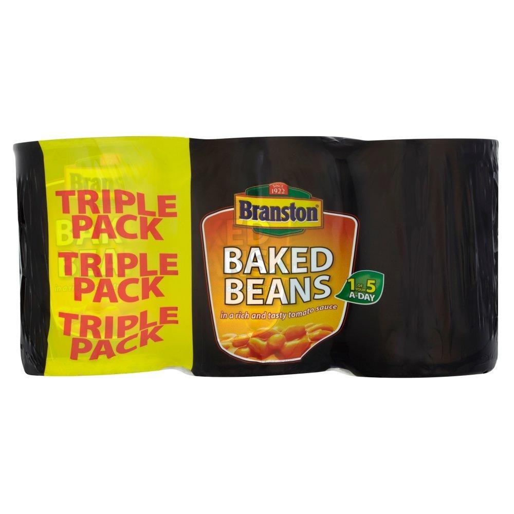 Branston Baked Beans In Tomato Sauce 3 x 410g