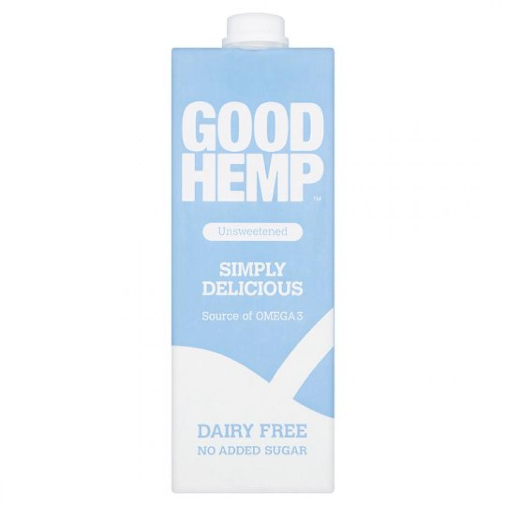 Good Hemp Food Unsweetened Simply Delicious Milk 1L