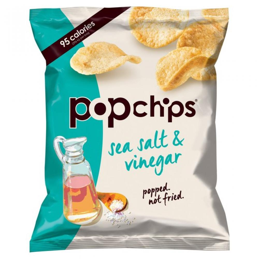 Popchips Sea Salt Potato Chips 23g