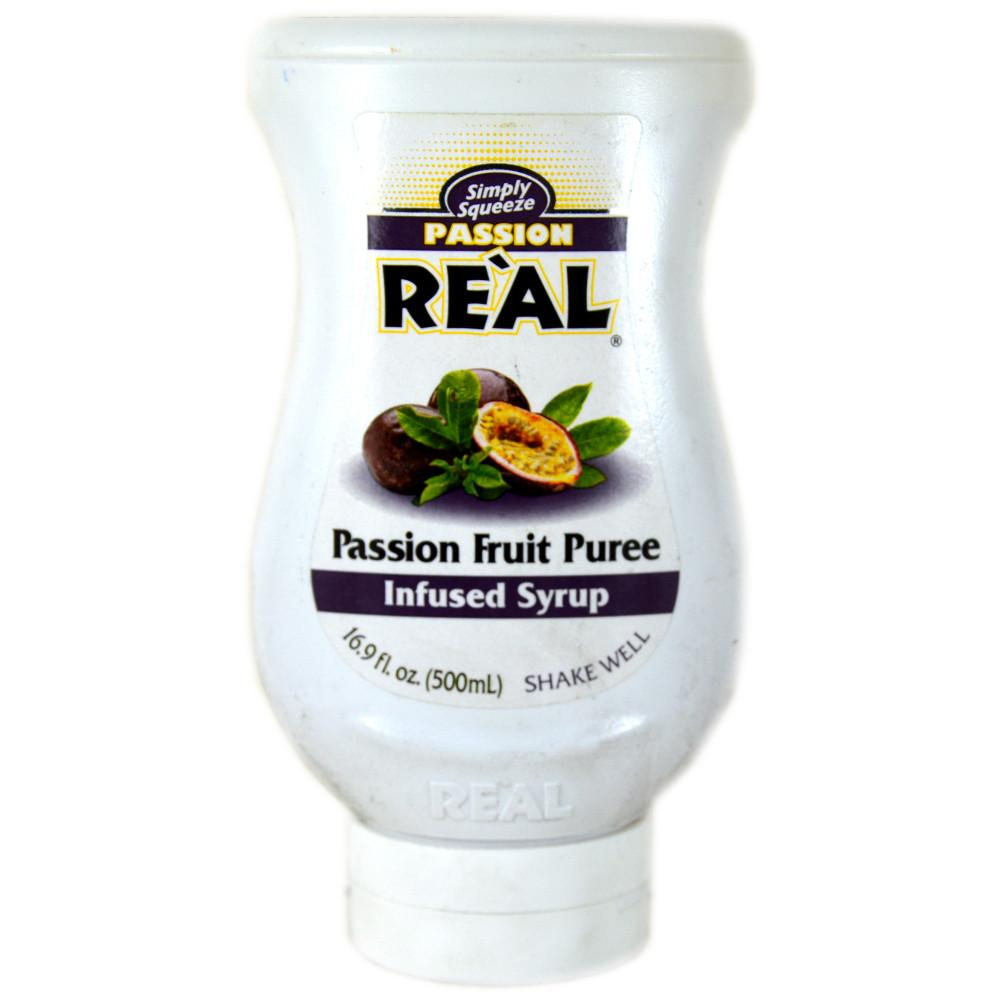Simply Squeeze Passion Fruit Puree Infused Syrup 500ml