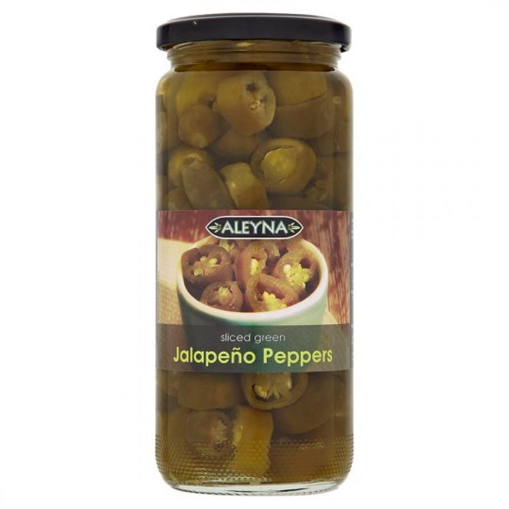 Aleyna Green Jalapeno Peppers 480 g