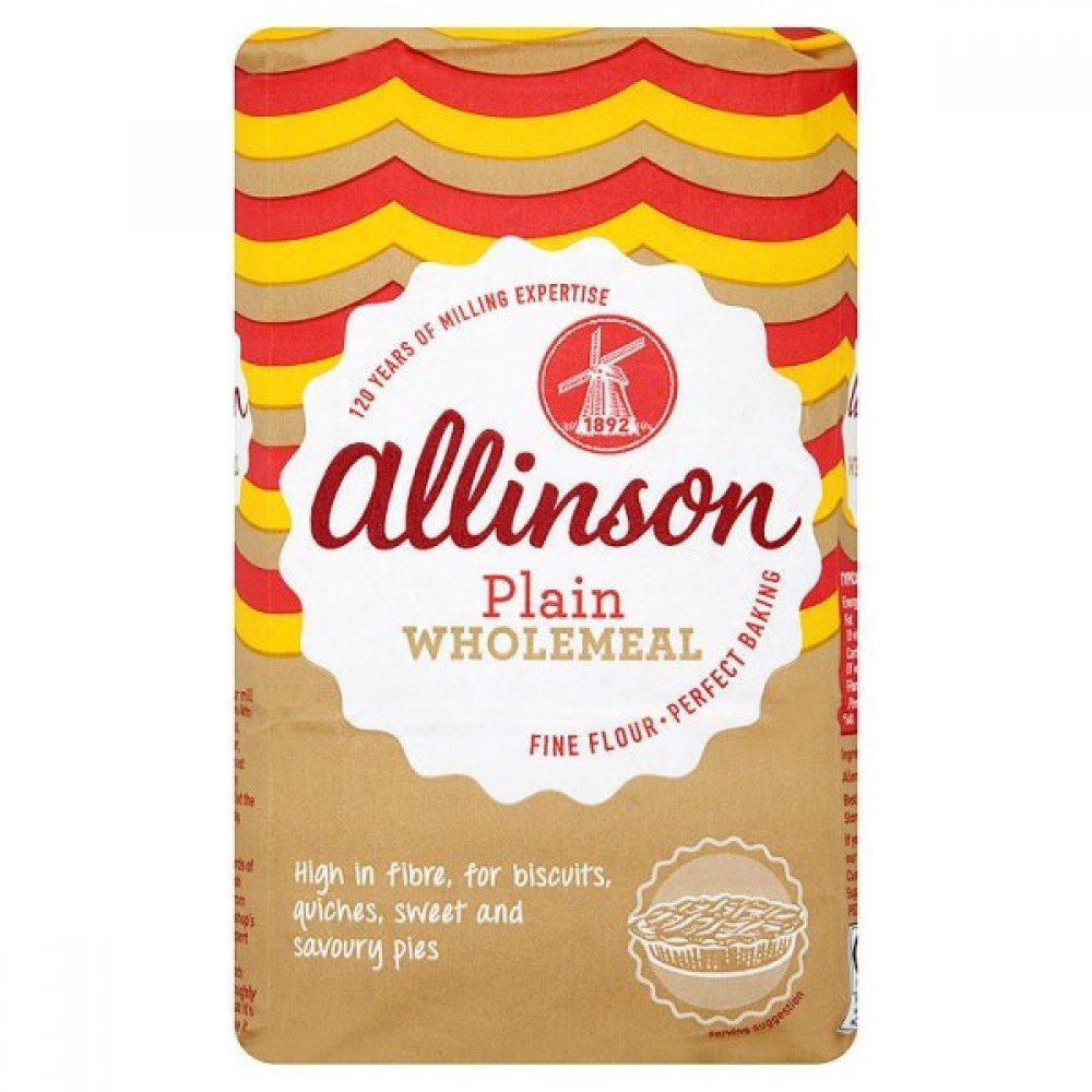 Allinson Plain Wholemeal Flour 1kg