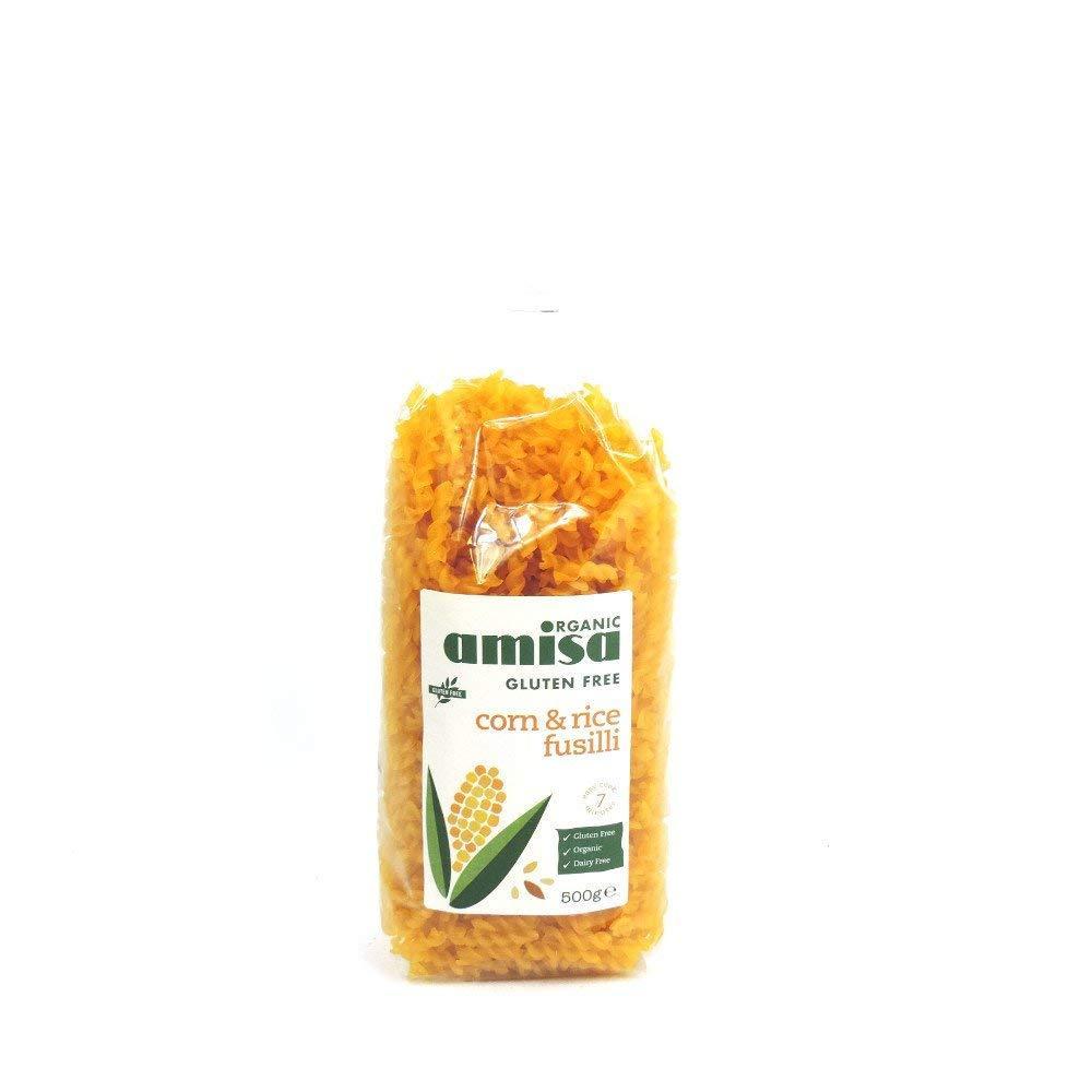 Amisa Corn and Rice Fusilli 500g