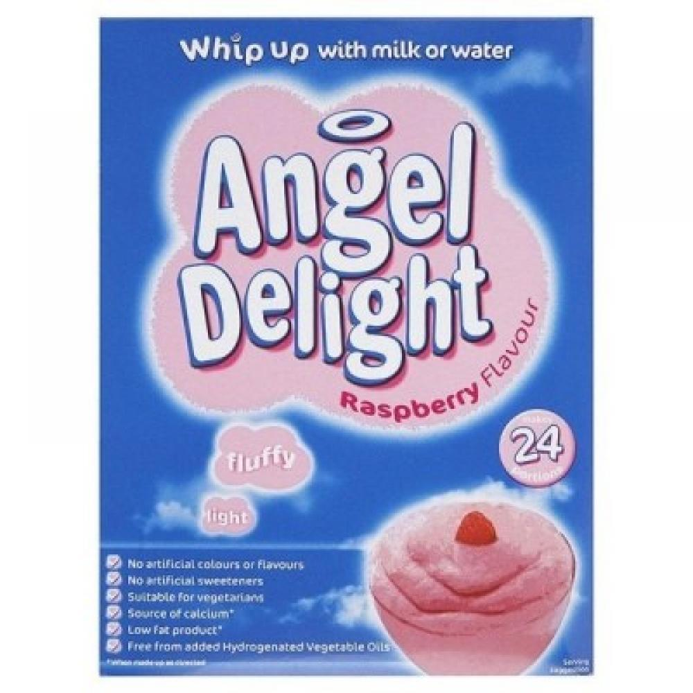 Angel Delight Strawberry Flavour Dessert 600g