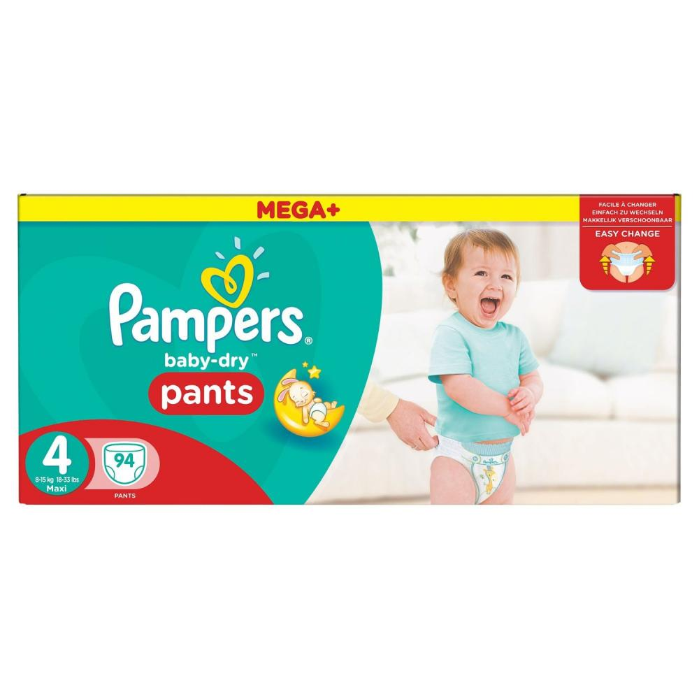 Pampers Baby-Dry Pants Size 4 Pack Of 47