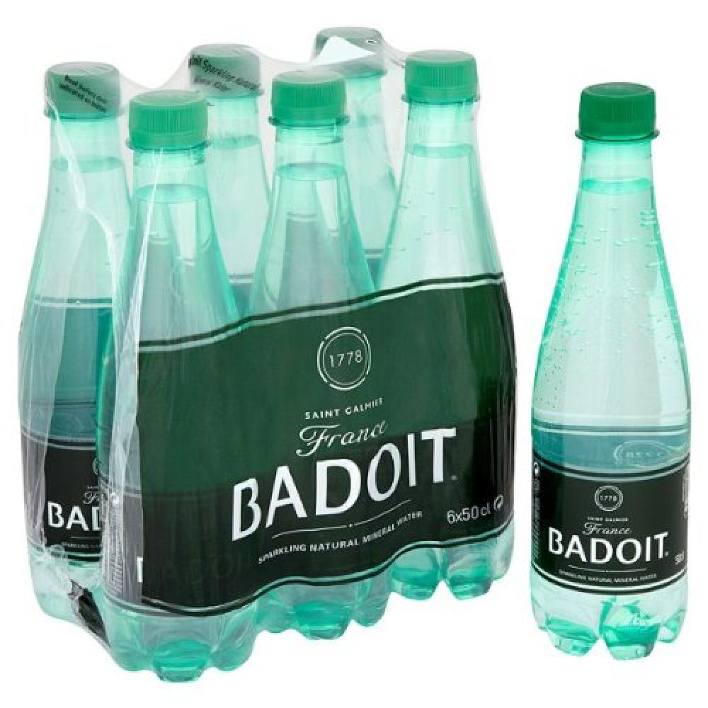 Badoit Sparkling Natural Mineral Water 50cl