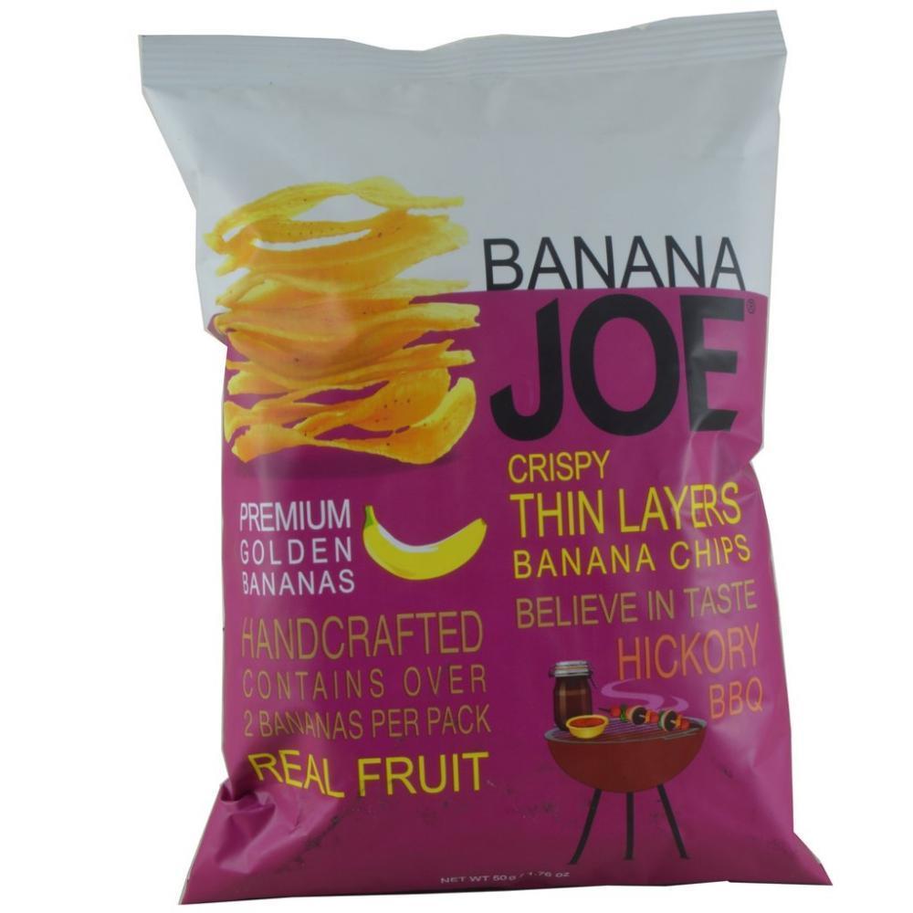 Banana Joe Hickory BBQ Banana Chips 50g