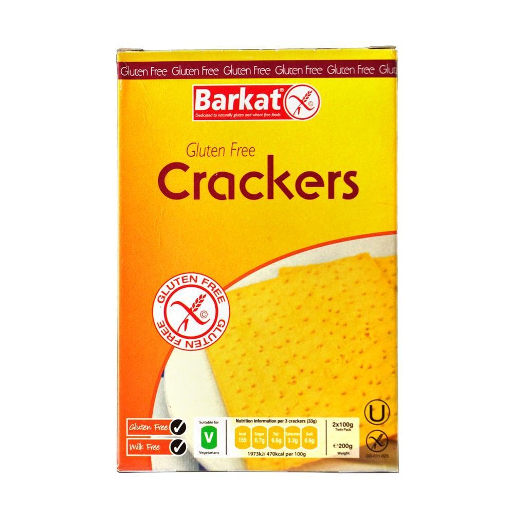 Barkat Gluten-Free Crackers 200g