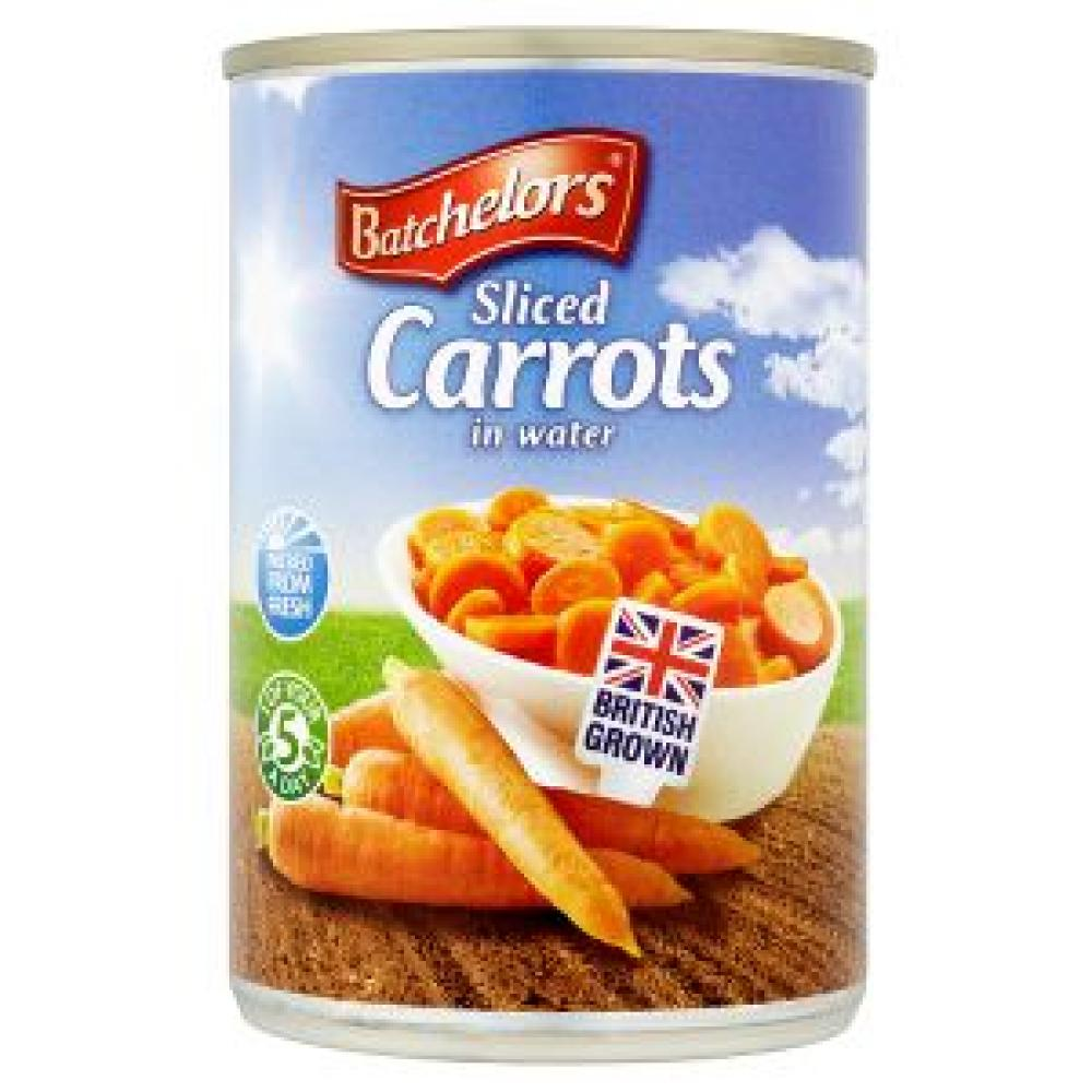 Batchelors Sliced Carrots in water 300g