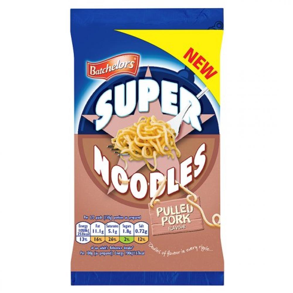 Batchelors Super Noodles Pulled Pork Flavour 100g