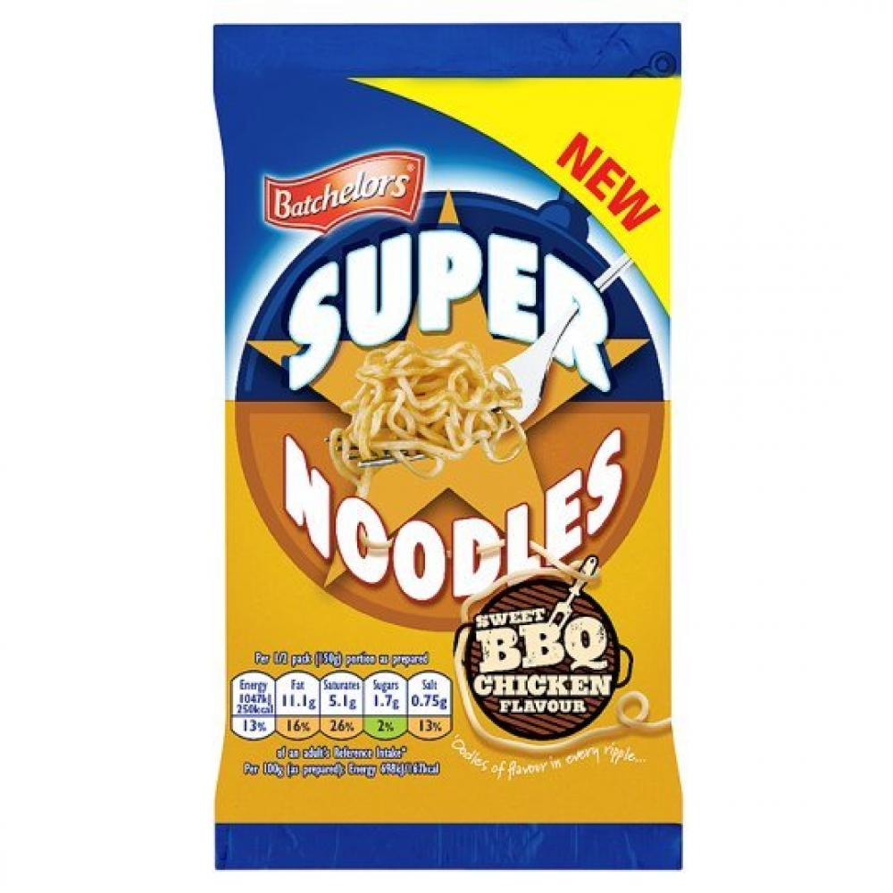 Batchelors Super Noodles Sweet BBQ Chicken Flavour 100g