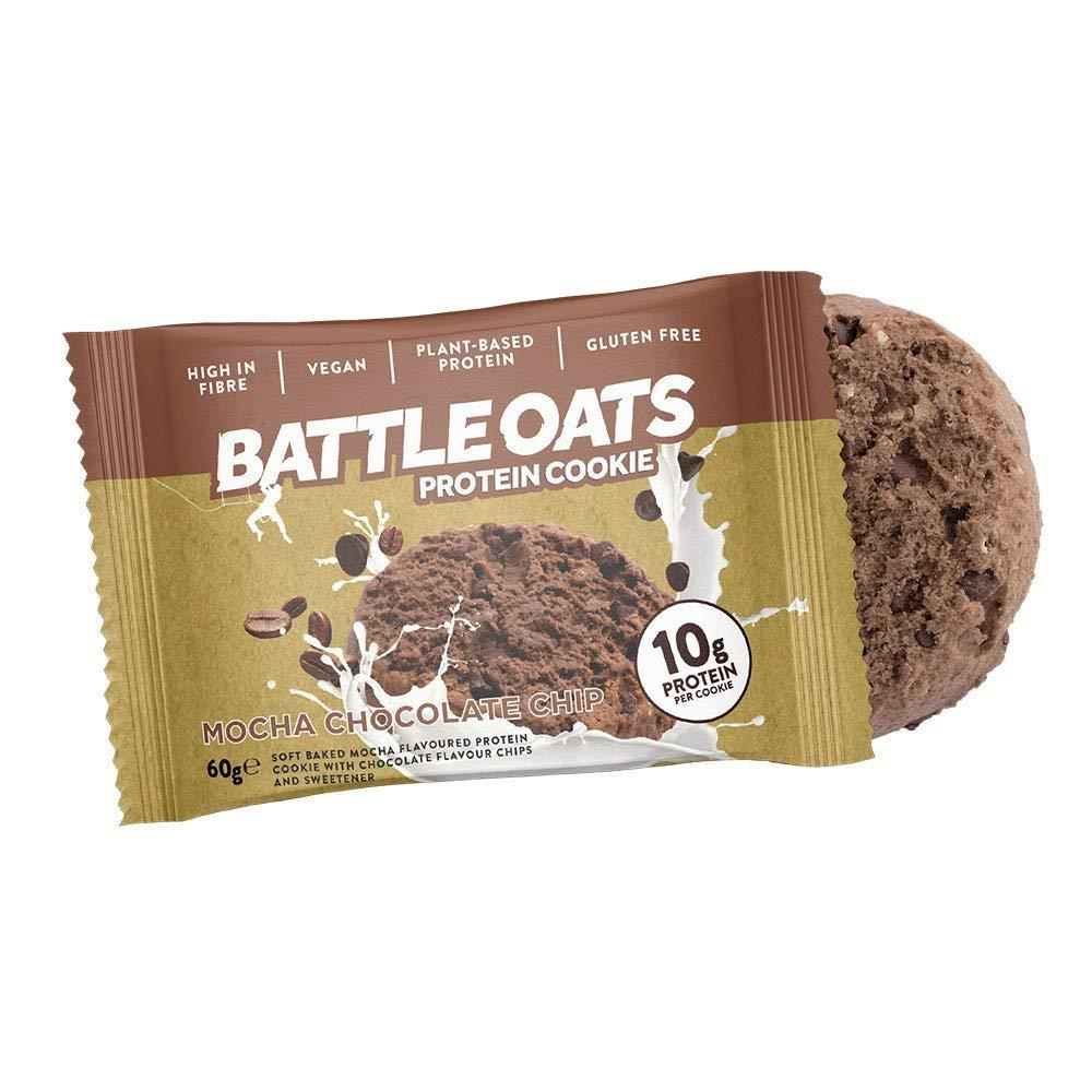 Battle Oats High Protein Cookies Mocha Chocolate Chip 60 g
