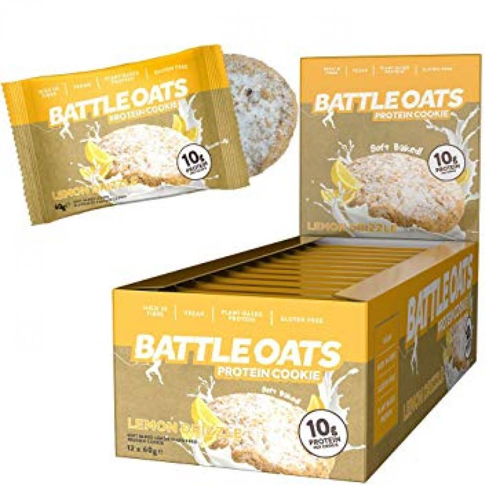 Battle Oats Protein Cookie Lemon Drizzle 60g
