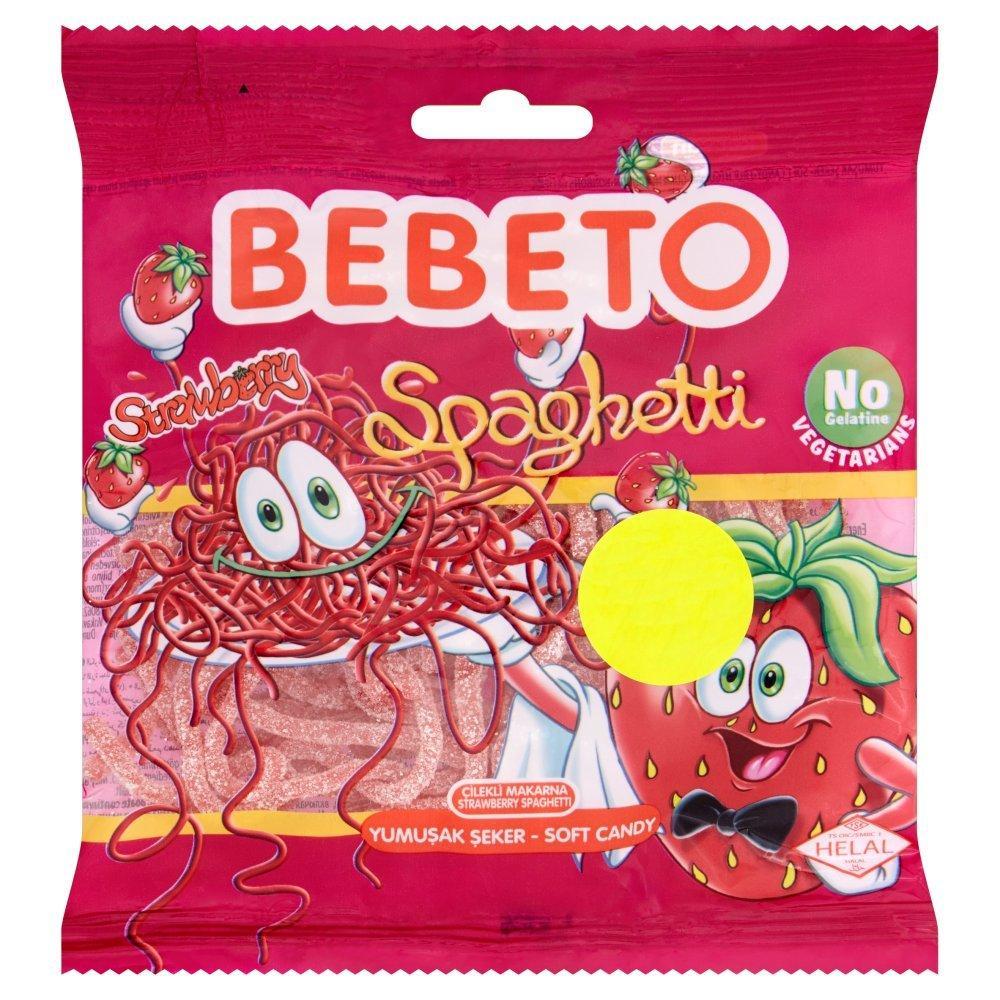 Bebeto Spaghetti Strawberry 80g