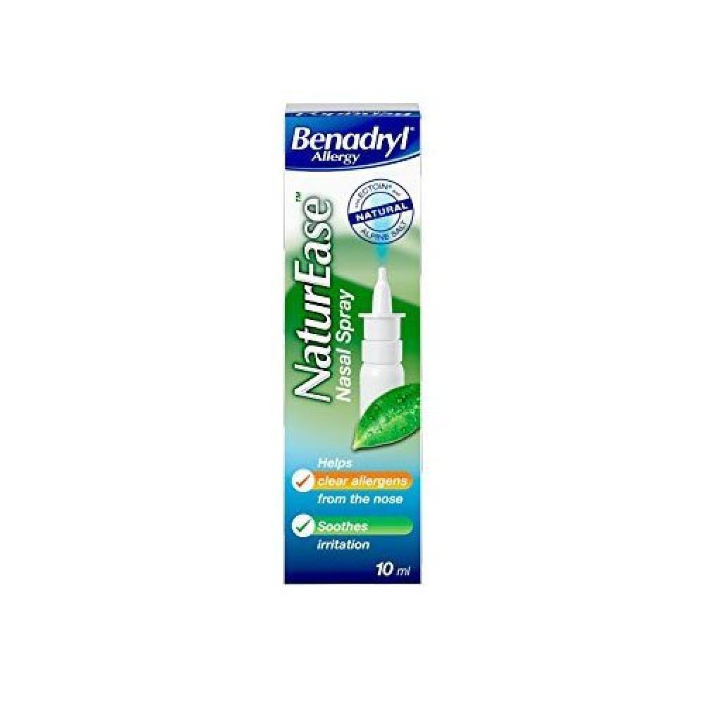 Benadryl Allergy Nature Ease Nasal Spray 10ml