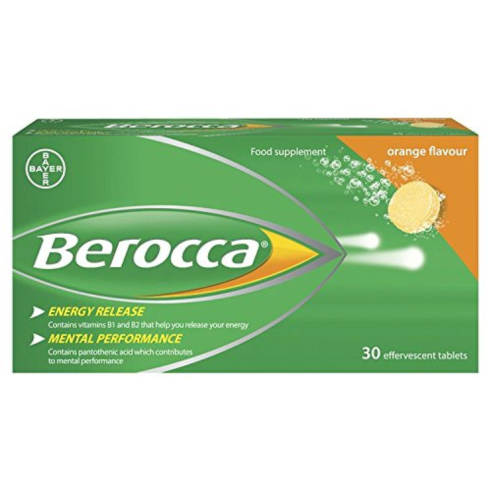 Berocca Orange Energy Vitamin 30 tablets