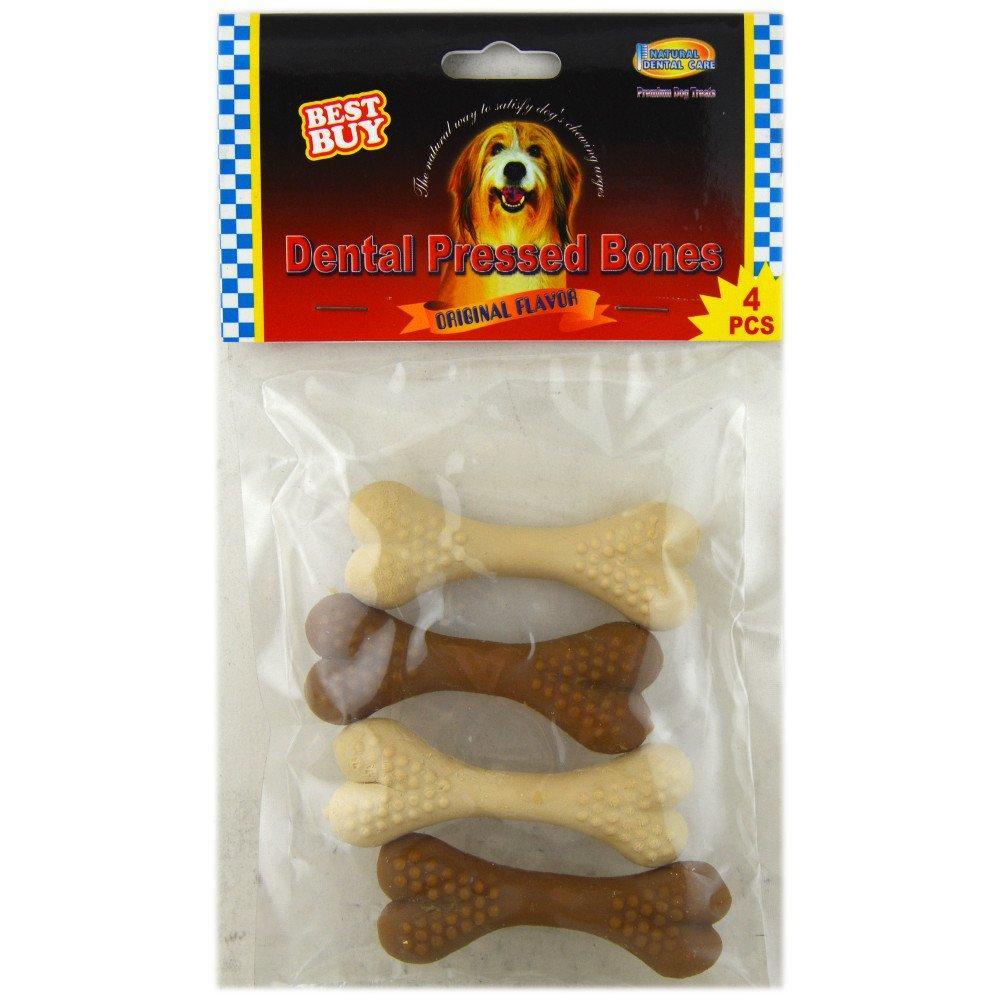 Best Buy Dental Pressed Bones 4 pack