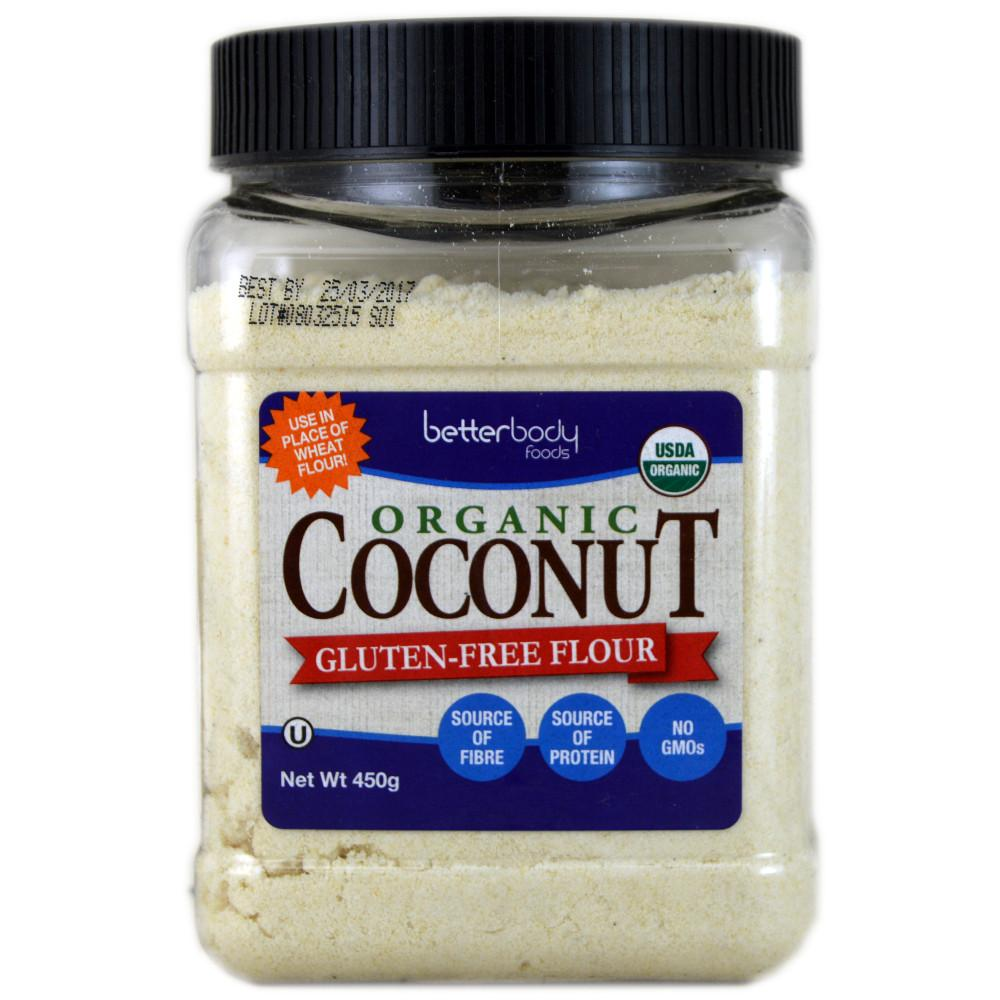 BetterBody Organic Coconut Flour 450g