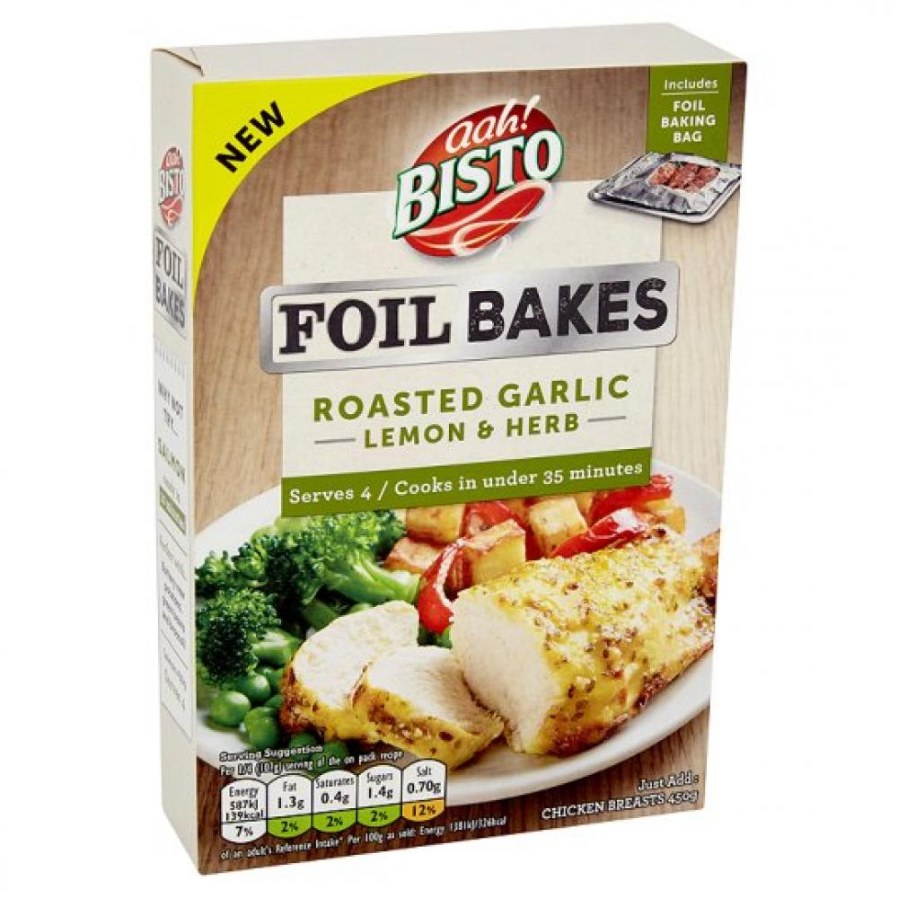 Bisto Foil Bake Lemon and Garlic 22g