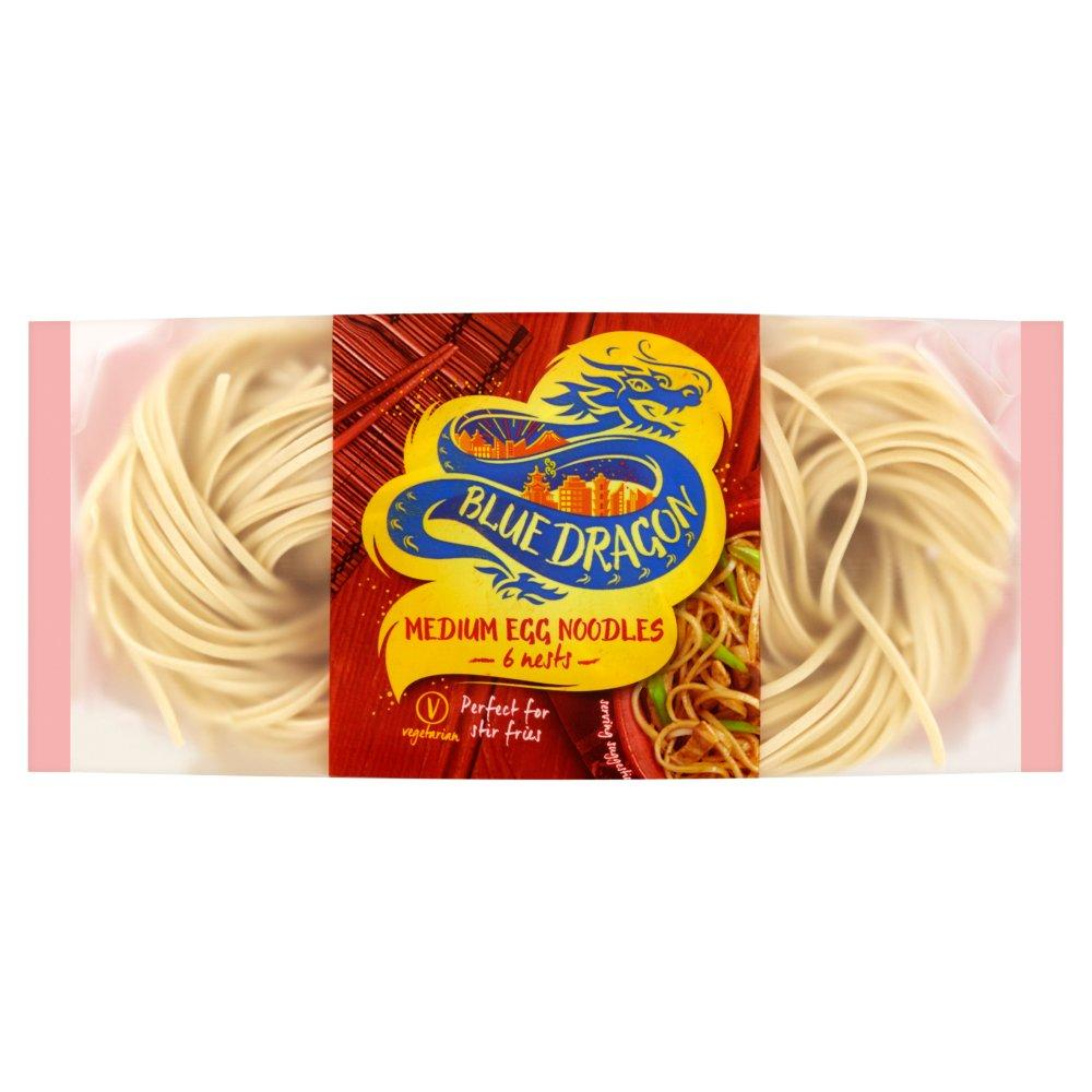 Blue Dragon Medium Egg Noodles 6 nests