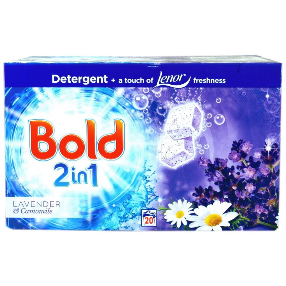 Bold 2 In 1 Lavender and Camomile 20 washes