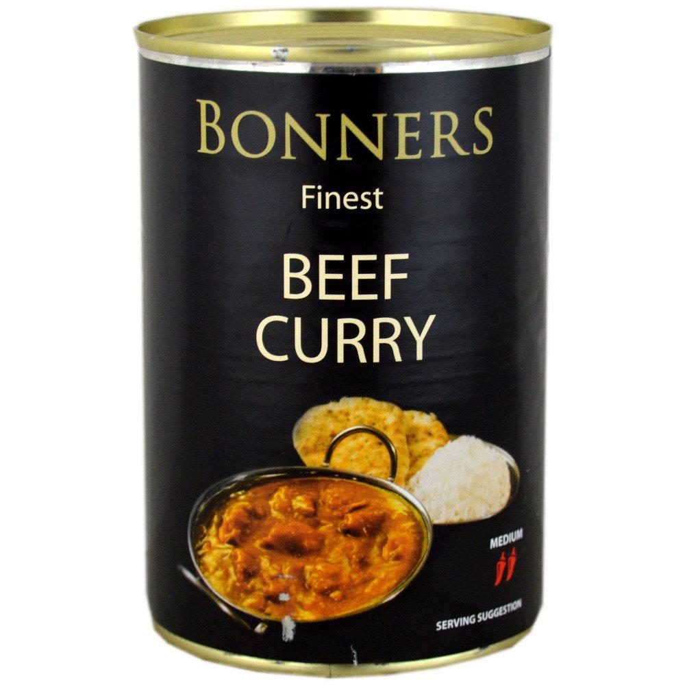 Bonners Finest Beef Curry 392g