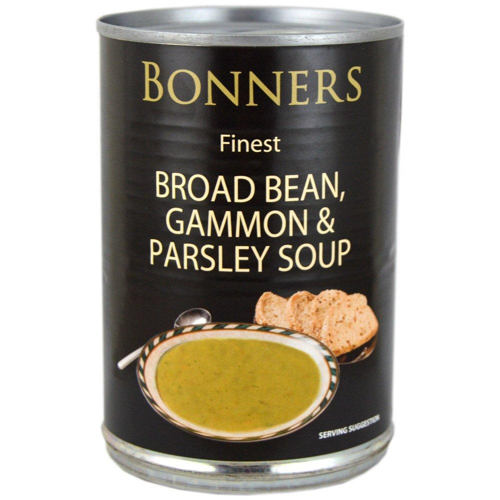 Bonners Finest Broad Bean Gammon and Parsley Soup 400g