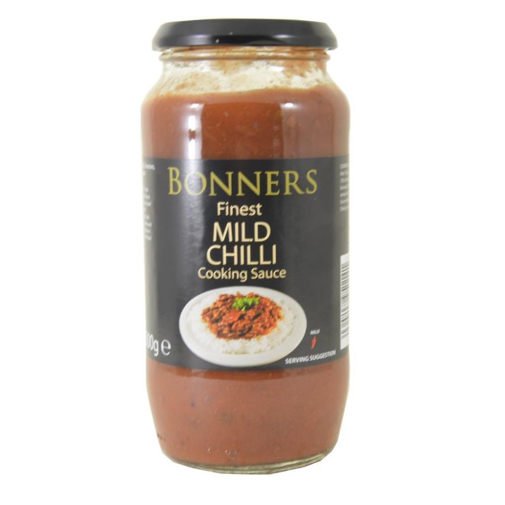 Bonners Finest Mild Chilli Con Carne Cooking Sauce 500g