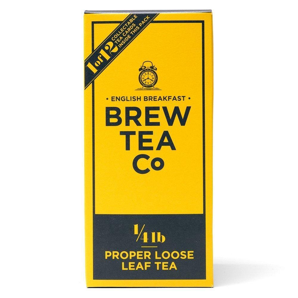 Brew Tea Co English Breakfast Proper Loose Leaf Tea 113g