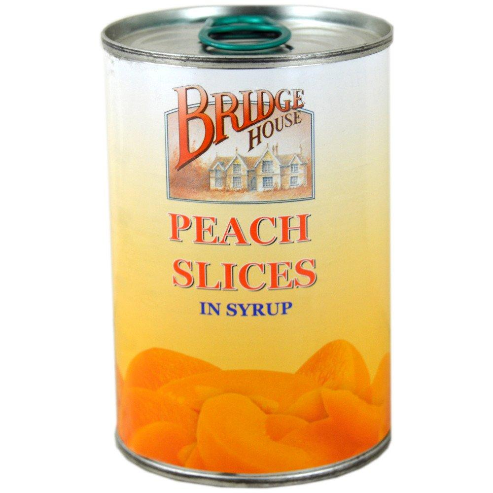 Bridge House Peach Slices In Syrup 410g