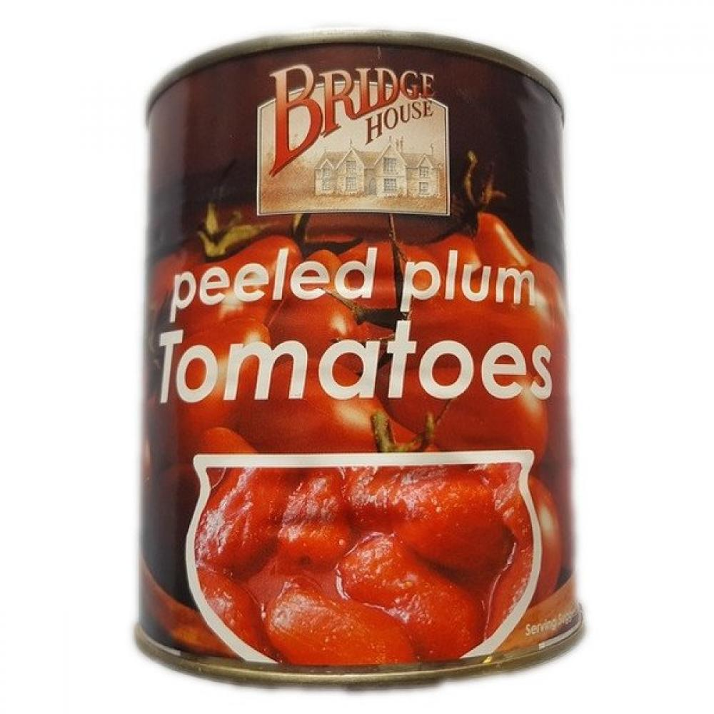 Bridge House Peeled Plum Tomatoes 800g