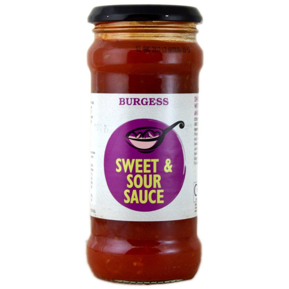 Burgess Sweet and Sour Sauce 350g