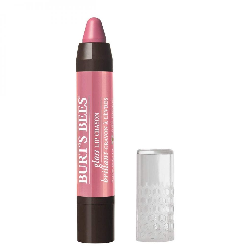 Burts Bees Natural Gloss Lip Crayon Pink Lagoon 2.83g