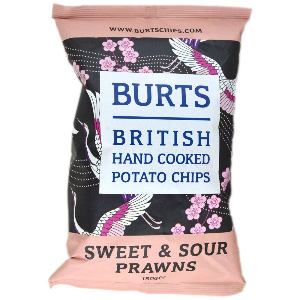 Burts Sweet and Sour Prawns Flavour Crisps 150g