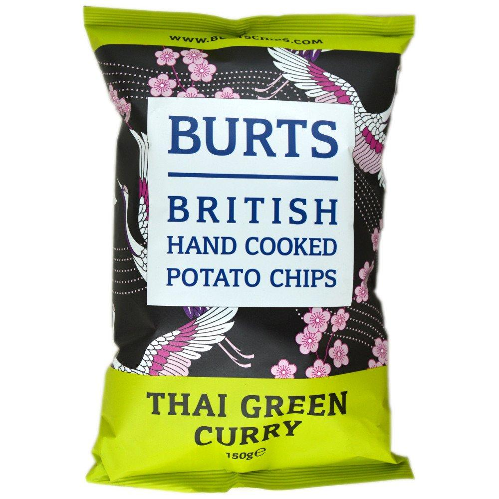 Burts Thai Green Curry Potato Chips 150g