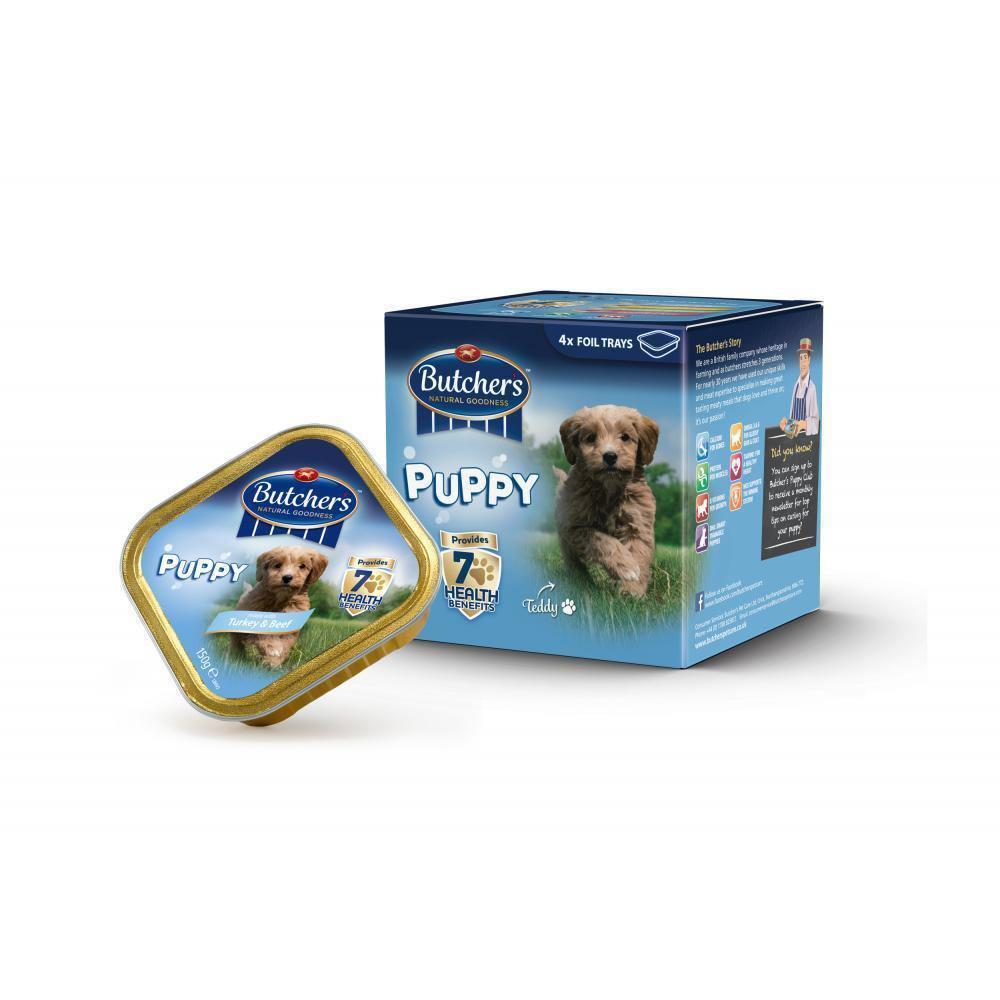 Butchers Choice Puppy Multipack Dog Food 150g x 4