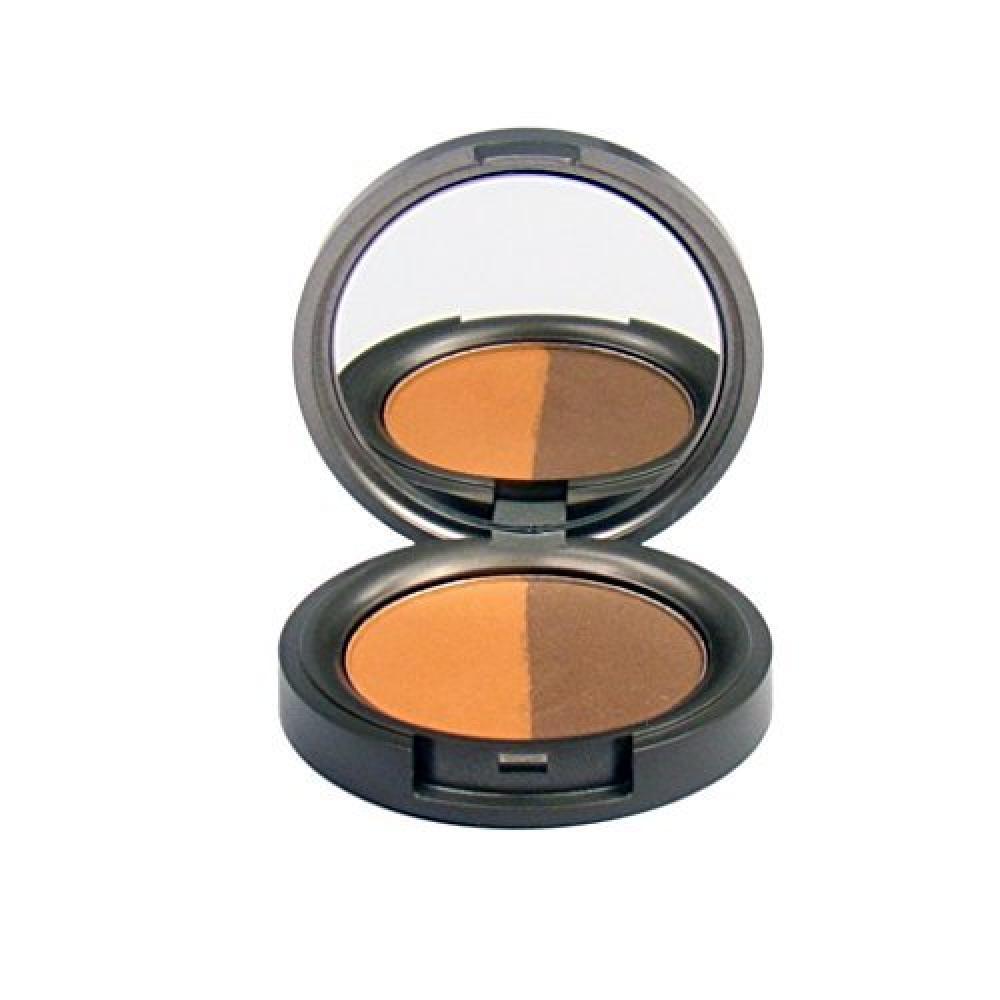 BWC Mineral Duo Eyeshadow Pressed Rich Tamarind 4g